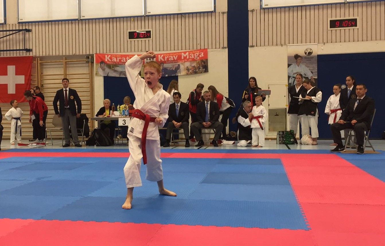 Junior Karate League Thun 2017